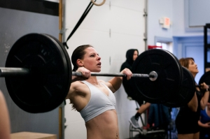 """I like to push myself, and that's exactly what CrossFit does"""