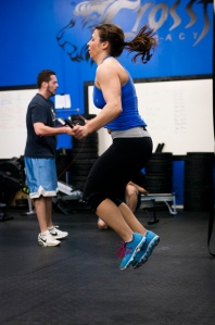 Double-unders require greater vertical leap and good timing
