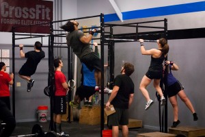 CrossFit pull up
