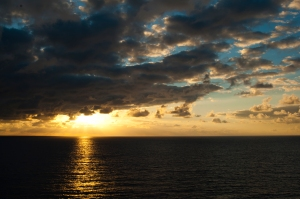 Bahamas Atlantic sunrise